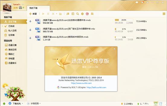 迅雷VIP尊享版2.0.12.256正式版